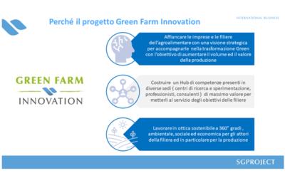 Con Green Farm Innovation le filiere agroalimentari hanno un alleato in più